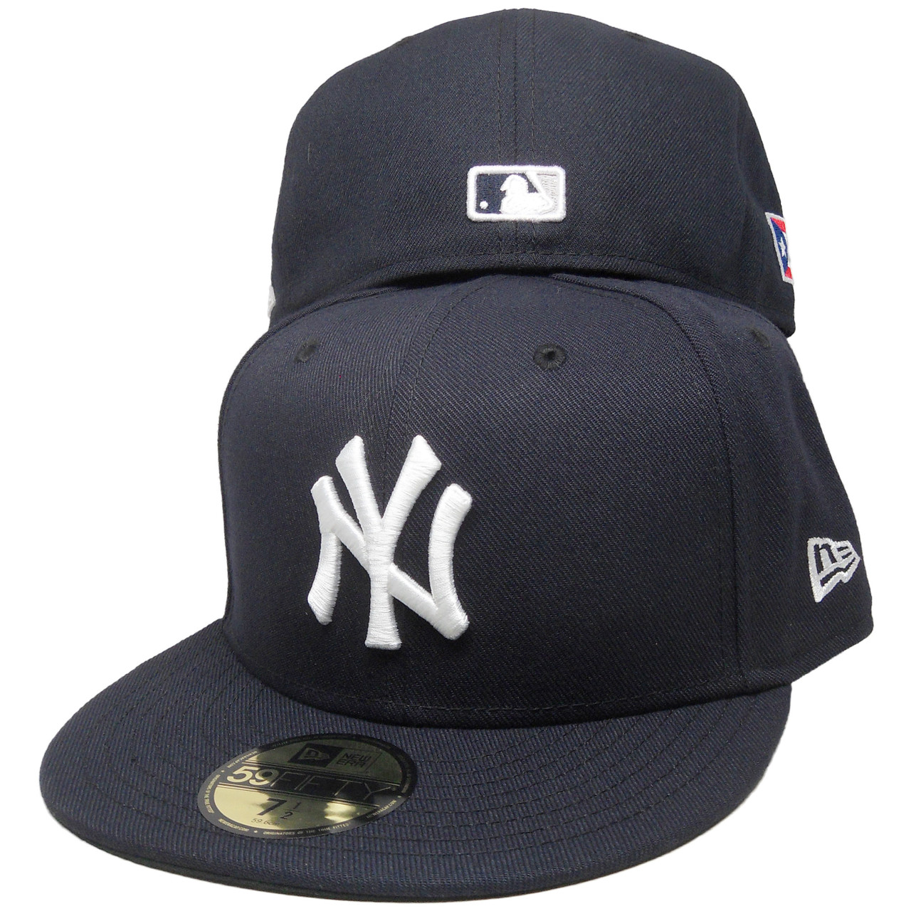 293269accf116 New York Yankees New Era 59Fifty Custom PR Flag Fitted Hat - Navy ...