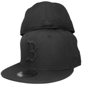 Boston Red Sox New Era All Black 59Fifty Fitted Hat - Black