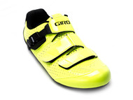 Giro Trans E70 Yellow/Black Men's Road Shoe Front Right