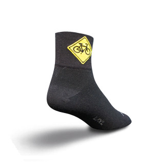 Sock Guy Share the Road Socks