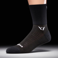 Swiftwick Performance Four Compression Socks Black