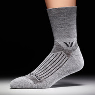 Swiftwick Pursuit Four Compression Socks Heather