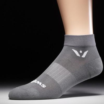 Swiftwick Aspire One Compression Socks Gray