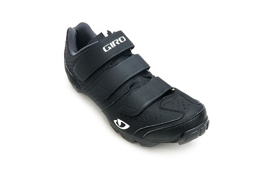Giro Riela R Women's Mountain/Indoor Cycling Shoe Black Front Right
