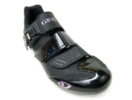 Giro Solara II Women's Road & Indoor Cycling Shoes /Black - Front RIght