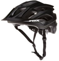 Fox Flux Matte Black Helmet