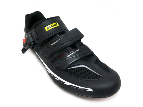 Mavic Ksyrium Elite II Men's Road/Indoor Cycling Shoes - Blk/Red - Front Right