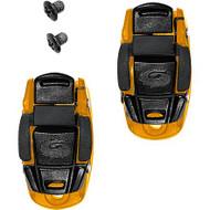 Sidi Caliper Buckles (3) Pair Orange/Black