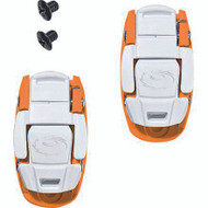 Sidi Caliper Buckles (3) Pair Orange/White