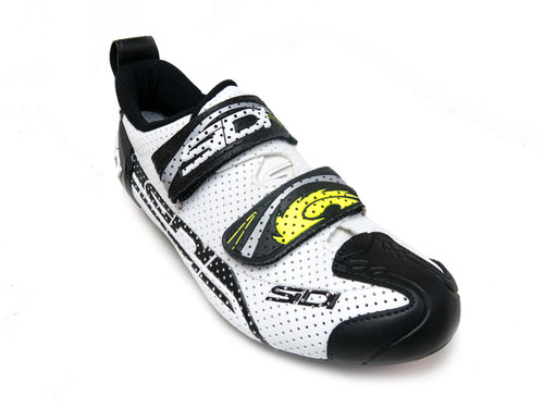 Sidi T-4 Air Carbon - BLK/WHT - Front Right
