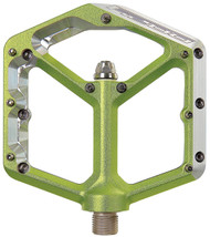 Spank Oozy Pedals 9/16 Alloy Platform Green""