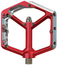 Spank Oozy Pedals 9/16 Alloy Platform Red""