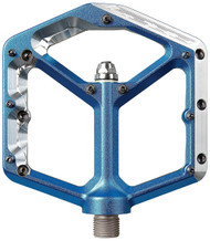 Spank Oozy Pedals 9/16 Alloy Platform Blue""