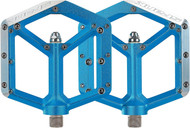 "Spank Spike 9/16 Platform Pedals Blue 400g"""