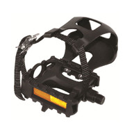 EVO E-Sport Mountain Pedal w/Toe Clips