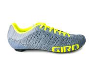 Giro Empire E70 Knit Road Shoe, Grey, Right
