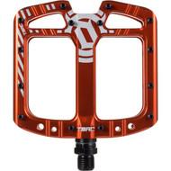 Deity TMAC Pedals Orange