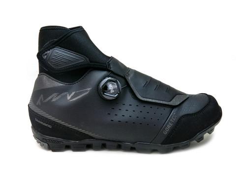 Shimano SH-MW7 Winter Mountain Bike Shoes, Blk, Right