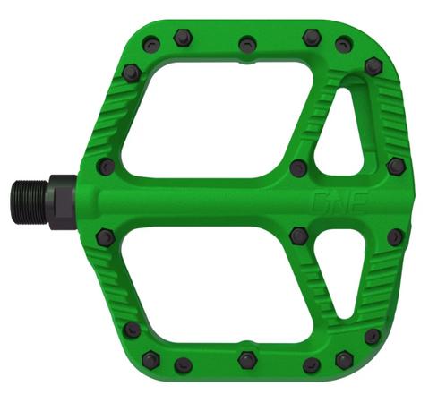 ONEUP Comp Platform Green Pedals