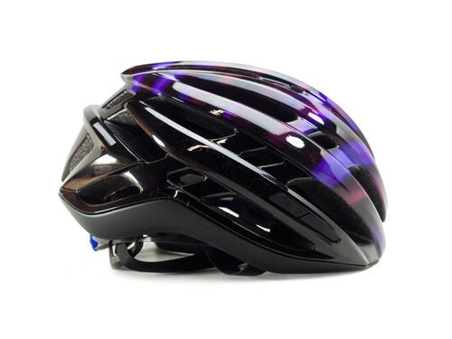 Matte Black Electric Purple