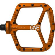 ONEUP Aluminum Platform Pedals Orange