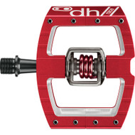 Crankbrothers Mallet DH Pedals Red/Red Spring