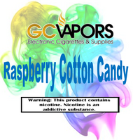 Raspberry Cotton Candy