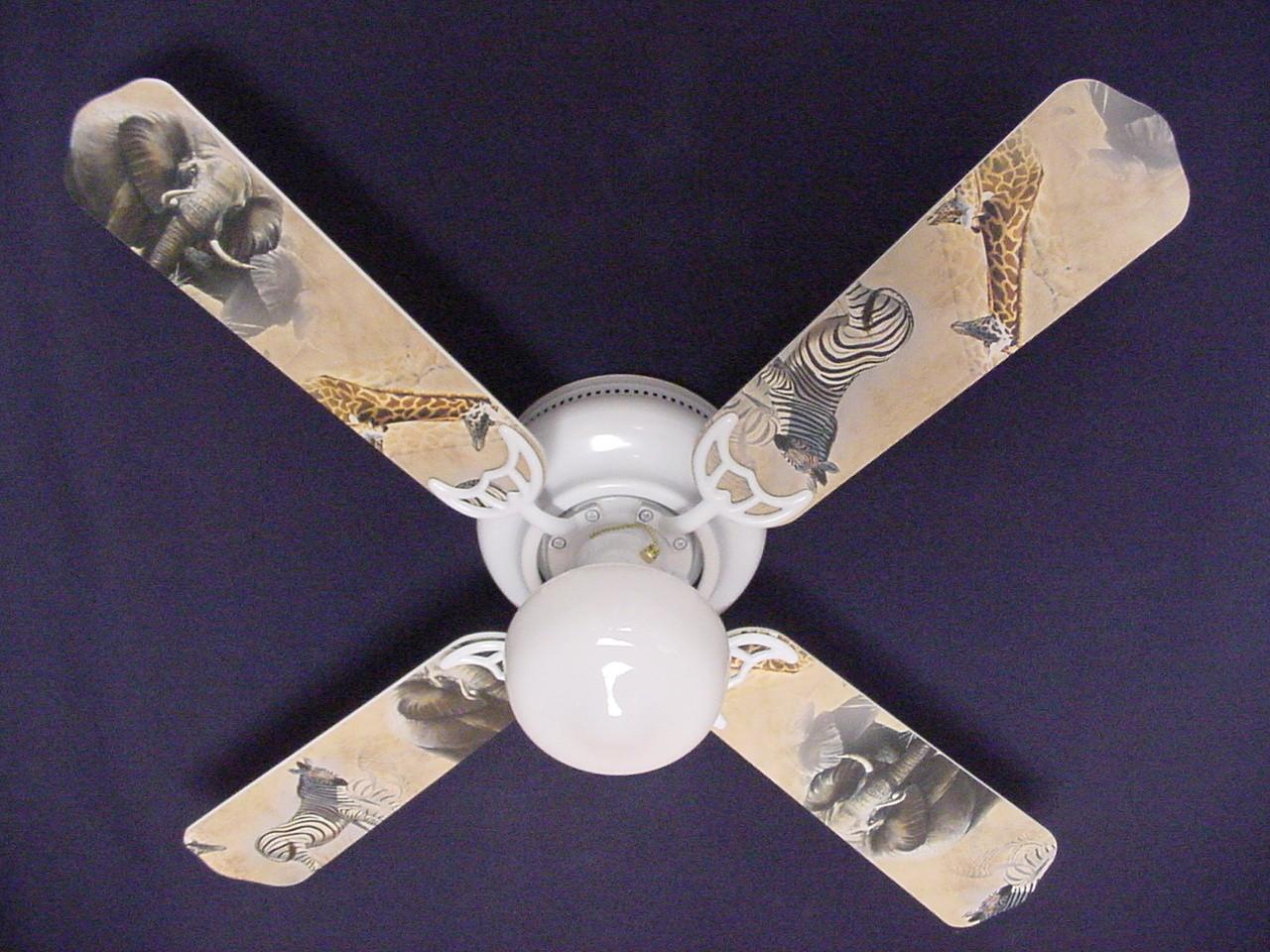 Pictures of Zebra Ceiling Fan