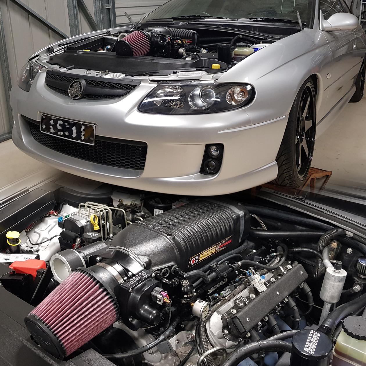 04 2004 PONTIAC GTO G T O 5.7 5.7L//6.0 6.0L V8 FULL AIR INTAKE KIT RED