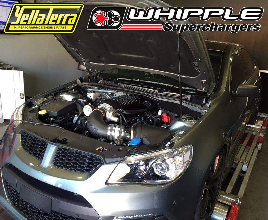 ENFORCER UPGRADE KIT' TO SUIT HSV F-SERIES WITH LSA  ALSO