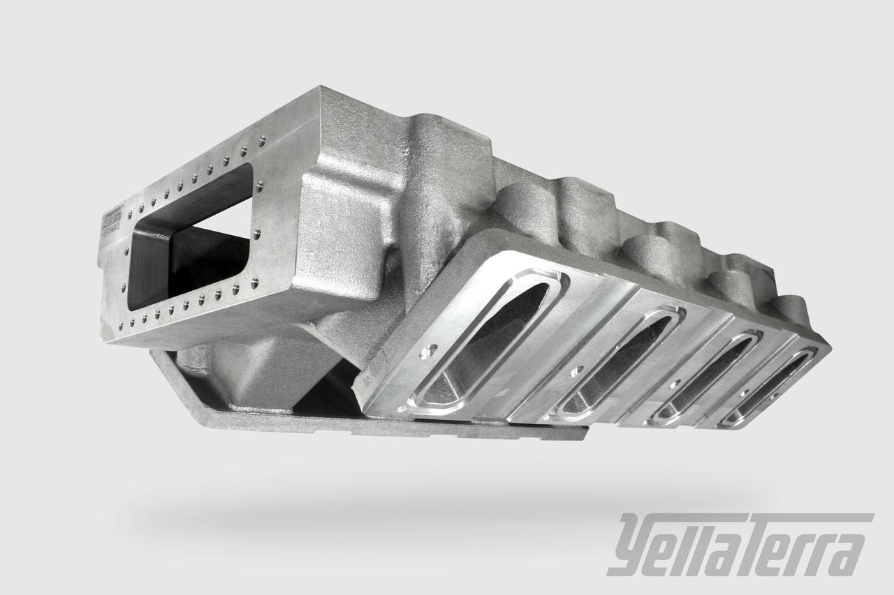 LS1 & LS3 Universal Hi-Rise Manifold (Suit NA, Turbo & Supercharged