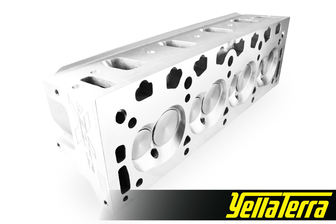 Holden V8 EFI 5 0L Alloy SuperX Cylinder Heads (assembled) (w/ injector  notches)