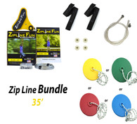 ZL-35 35' Zip Line Bundle