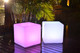 Led Light Cube, Bench and Ottoman Led Planet Lighting