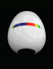 LED Mood Light RGB Wireless With  Touchscreen Scroll Bar  - Color White