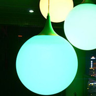 "Ceiling Led Lite Ball lamp 16"" Inches"