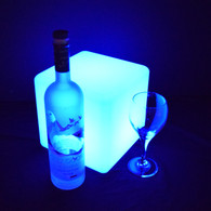 "Led Light Cube 8"" X 8"" X 8"" Cordless Ideal for Table Centerpiece or Nightlight"