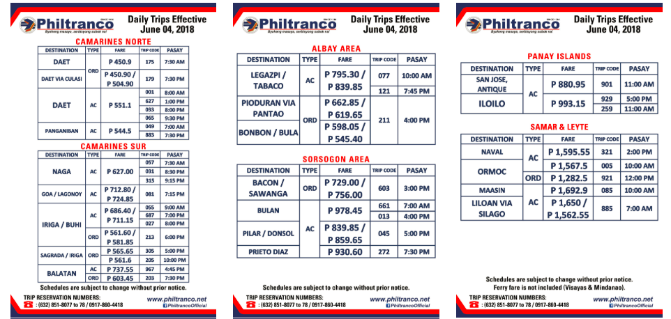 Phbus Online Booking Reservation Bus Manila To Naga