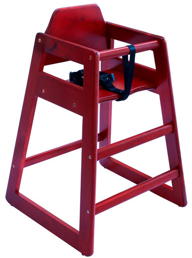 Eurobambino High Chair - Red