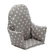 No Tray High Chair Cushion Insert - Grey Stars