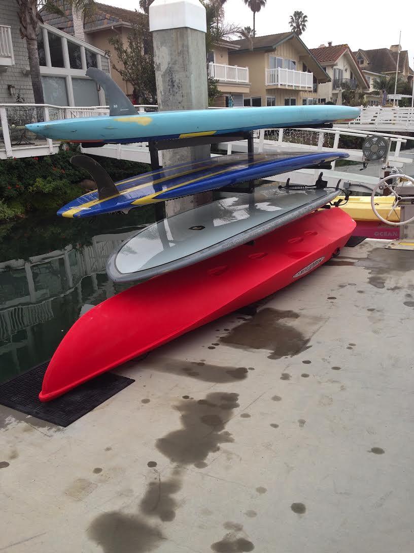 T Rax Dock Sup And Kayak Rack T Raxsurf