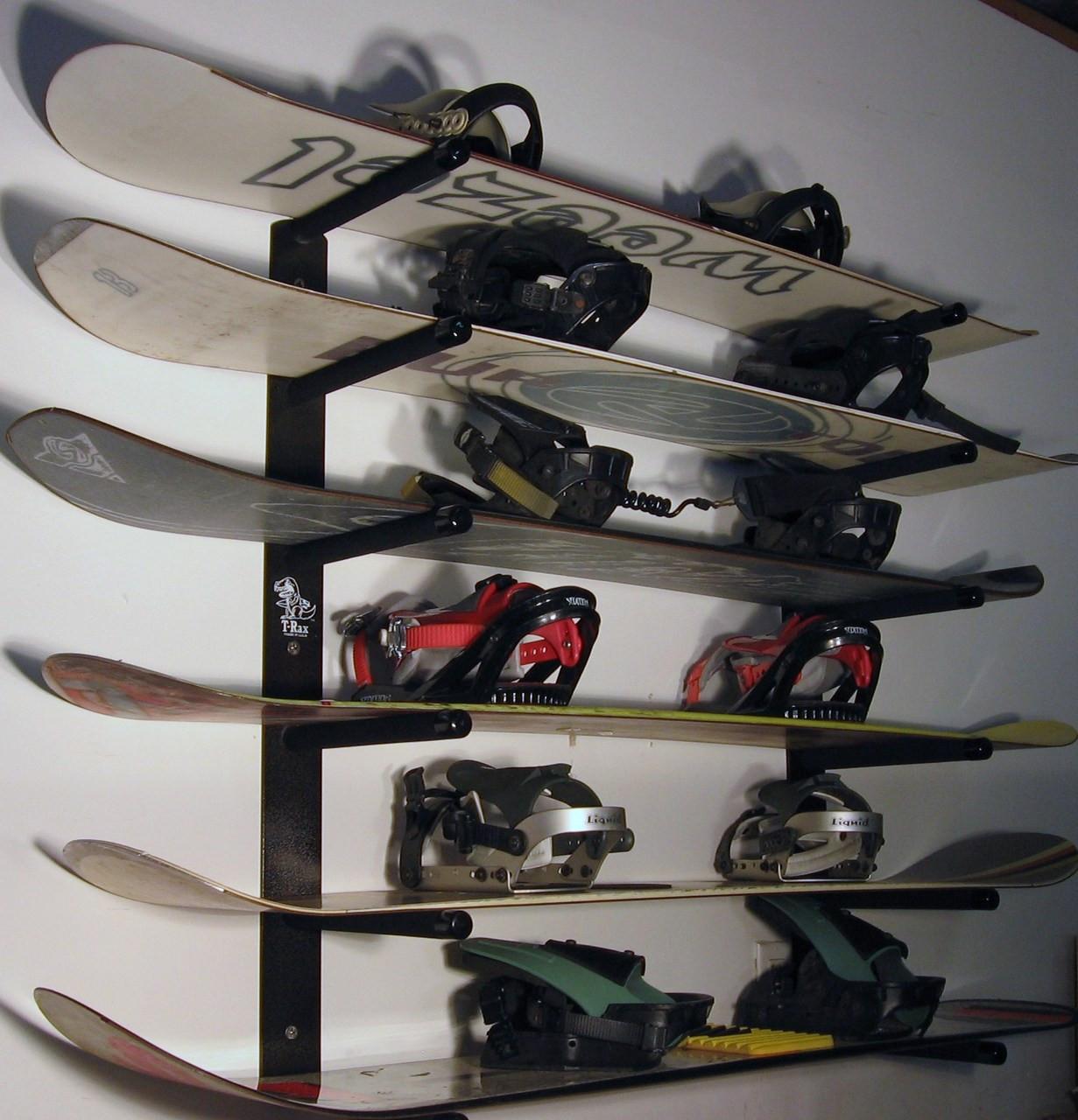 T Rax Snowboard Racks Snowboard Wall Rack Snowboard