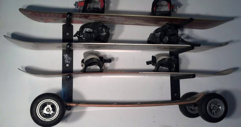 Premium Quality Snowboard Racks Since 1997. T-Rax are 100% Made in the U.S.A. T-Rax wall racks will look perfect inside your home  or condo.