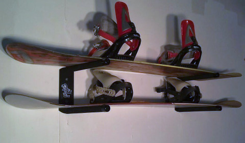 T-Rax Quality Board Racks Since 1997 Strong and Durable Wall Mounted Snowboard Racks. Never Rust Stainless Steel Hardware Included.