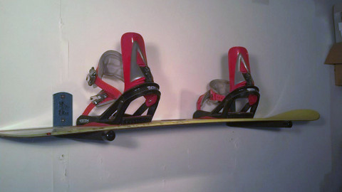 Snowboard Rack Orders include Never Rust Stainless Steel Hardware. T-Rax are 100% Made in the U.S.A.  and  Lifetime Guarantee! Snowboard racks work great for ski storage as well.