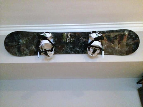 T-Rax Snowboard Hangers come with a Lifetime Guarantee! These snowboard racks are virtually bullet proof!