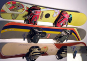 T-Rax snowboard wall hooks come in pairs.  Get your boards off the floor and on the wall! Perfect for your bedroom wall or any wall in the home.