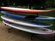 T-Rax SUP Mobile Rolling Surf Rack Are Extremely Durable. 100% Made in the U.S.A. and have a Lifetime Guarantee!