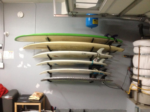 The 6 Surfboard T Rax Loaded And Ready For Surf Racks Come With