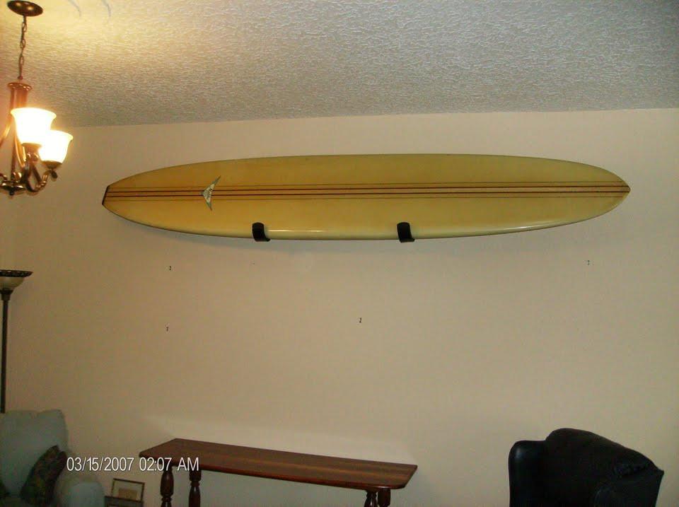 Classic Longboard Display Rack By T Rax Surfboard